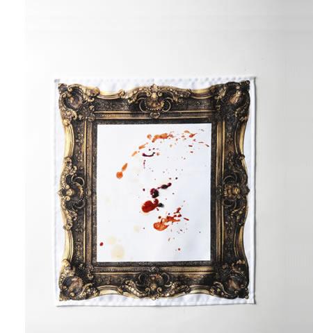 frame napkin