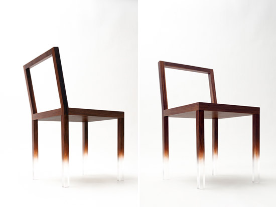 fade out chair