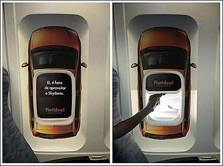 Creative Ads On Airplanes