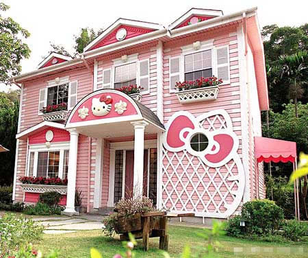 Hello Kitty House Design
