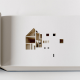 ものすごい手間がかかってる!くりぬいて作られた立体建築本がすごい - Your House