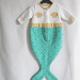 赤ちゃんが海に還ってしまうかもしれないパジャマ - Mermaid Sleeping Bag -