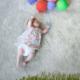 寝ている赤ちゃんの姿をアートにした写真 - Mila's Daydream -