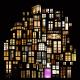 夢の国につながる窓だらけの家 - Dreamy Window Collage Structures -