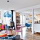 カラフルでもキレイにまとまっている家 - A colorful home -