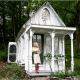 森の中で出会ったヴィクトリア調のかわいいコテージ - A Tiny Victorian Cottage -